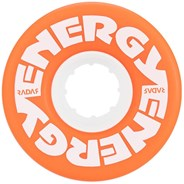Energy 57mm 78a Roller Skate Wheels - Orange