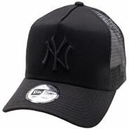 Clean Trucker Cap - New York Yankees Black