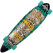 ML1140 Green Tribal Rogue IV Complete Longboard