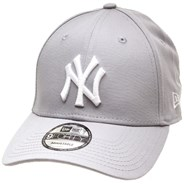 MLB League Essential 9FORTY Cap - NY Yankees Grey/White