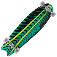 ML1160 Rogue Swallowtail Complete Longboard - Green