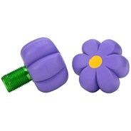 Brake Petals Toe Stops - Violet Forget Me Not