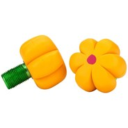 Brake Petals Toe Stops - Yellow Daisy