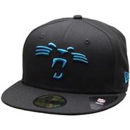 Team Tonal NFL 5950 Fitted Cap - Carolina Panthers