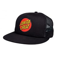 Classic Dot Mesh Cap - Black/Black