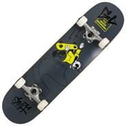 Skully Black 7.25inch Mini Complete Skateboard