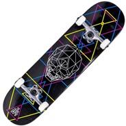 Geo Skull CMYK 8inch Complete Skateboard