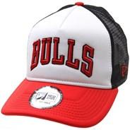 Colour Block Trucker Cap - Chicago Bulls