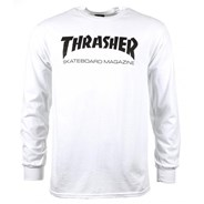Skate Mag L/S T-Shirt - White