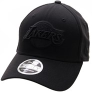 Black on Black Stretch Snap 940 Cap - LA Lakers