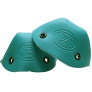 Leather Toe Caps - Turquoise
