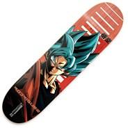 Rodriguez Dragon Ball Z SSG Goku 8inch Skateboard Deck