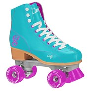 Sabina Quad Roller Skates - Mint/Purple