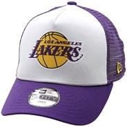 Kids Team Colour Block Trucker Cap - LA Lakers