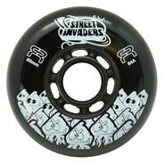 Street Invaders 2 Freestyle Inline Wheel - Black