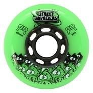 Street Invaders 2 Freestyle Inline Wheel - Green