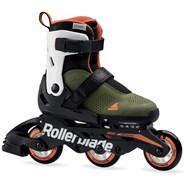 2020 Microblade Free 3WD Kids Fitness Inline Skate - Green/Orange