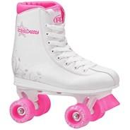 Roller Star 350 White/Pink Quad Roller Skates