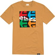 Four Square S/S T-Shirt - Gold