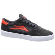 Cambridge Charcoal/Flame Suede Shoe