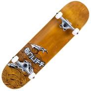 Big Wave Brown 8inch Complete Skateboard