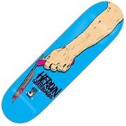 Razortop Blue 9.25inch Skateboard Deck