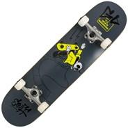 Skully Black 7.75inch Complete Skateboard