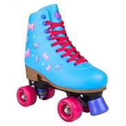 Blossom Blue Adjustable Kids Artistic Quad Roller Skates