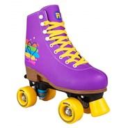 Passion Purple Adjustable Kids Artistic Quad Roller Skates