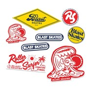 Ben Koppl Roller Surfer Sticker Pack