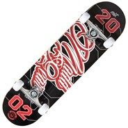 Pro Series Game Play Black/Red Complete Skateboard