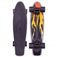 Complete 22inch OG Plastic Skateboard - Flame