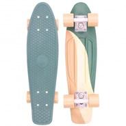 Complete 22inch OG Plastic Skateboard - Swirl
