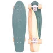 Complete Nickel 27inch Plastic Skateboard - Swirl