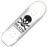 OG Skull White 8.75inch Pool Skateboard Deck