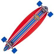 Ocean Complete Pintail Longboard - Red