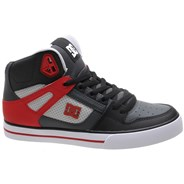Pure High Top WC Grey/Red Shoe