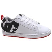 Court Graffik White/Grey/Red Shoe