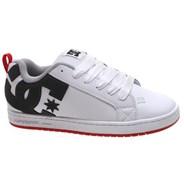 Court Graffik White/Grey/Red Shoe
