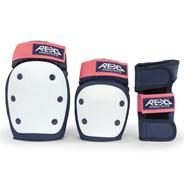 RKD600 Heavy Duty Triple Pad Set - Blue/Pink