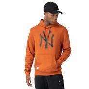MLB Seasonal Team Logo Pullover Hoody - New York Yankees - Rust