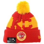 NFL Sideline Bobble Knit 2020 Home Game Beanie - Kansas City Chiefs