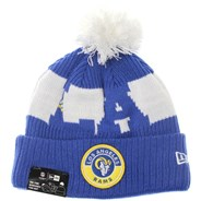 NFL Sideline Bobble Knit 2020 Home Game Beanie - Los Angeles Rams