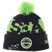NFL Sideline Bobble Knit 2020 Home Game Beanie - Seattle Seahawks