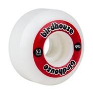 Logo 99a Skateboard Wheels 53mm - Red