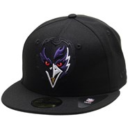 NFL Elements 2.0 5950 Fitted Cap - Baltimore Ravens