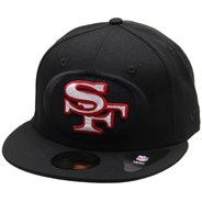 NFL Elements 2.0 5950 Fitted Cap - San Francisco 49ers