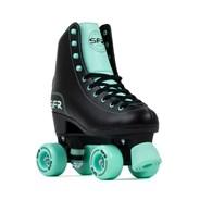 Figure Quad Roller Skates - Black/Green