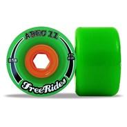 Classic Freerides 77mm Longboard Wheels - Green