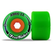 Classic Freerides 77mm Longboard Wheels - Green